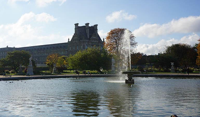 mejores parques de París