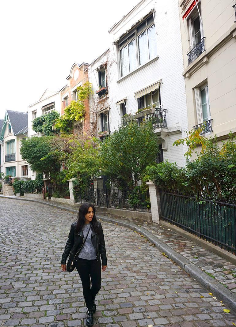 Calles bonitas de Montmartre