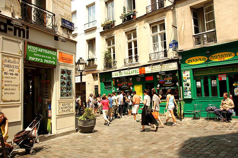calles secretas de París