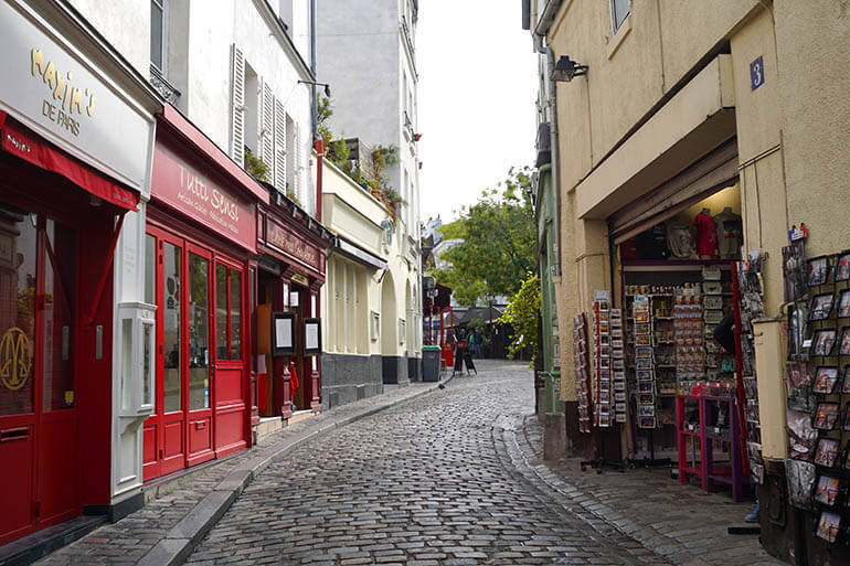 Calles más bonitas que ver en París