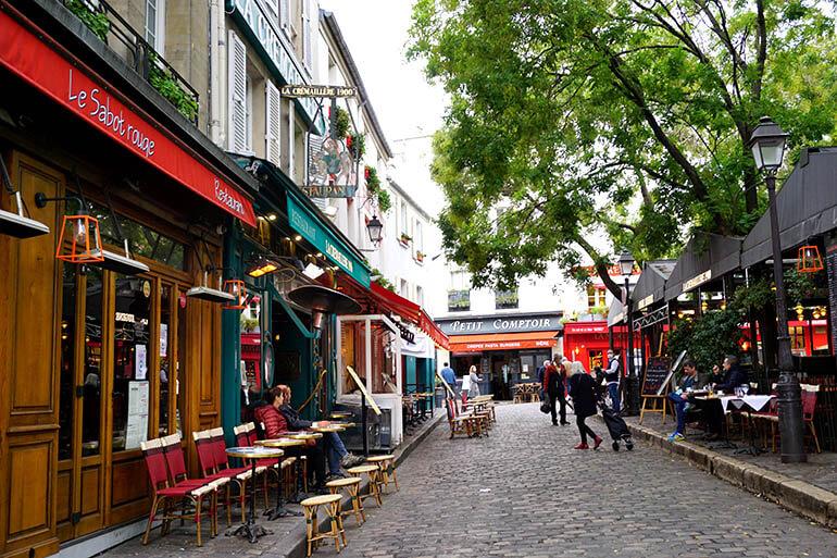 calles más bonitas de París