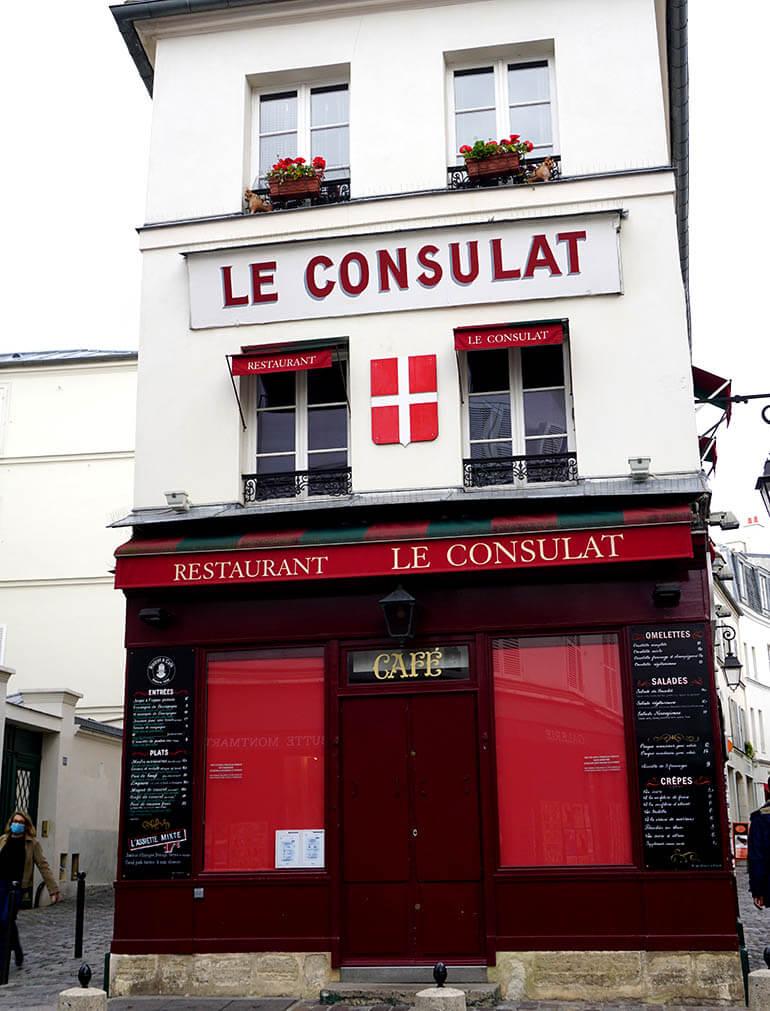 calles más bonitas en Montmartre