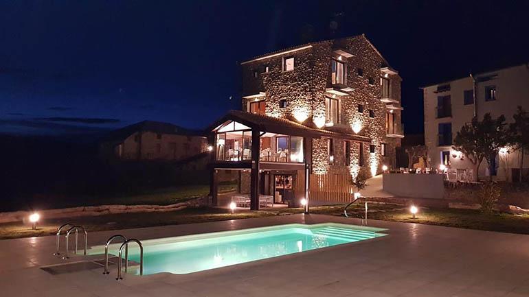 Hoteles bonitos en pirineo Aragón