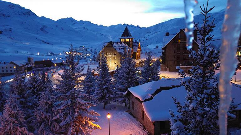 hoteles en las pistas de esquiar Formigal