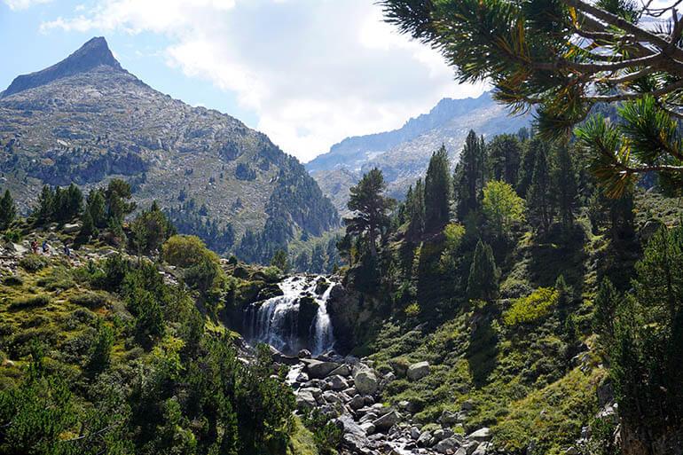 cascada de Aigualluts Ribagorza
