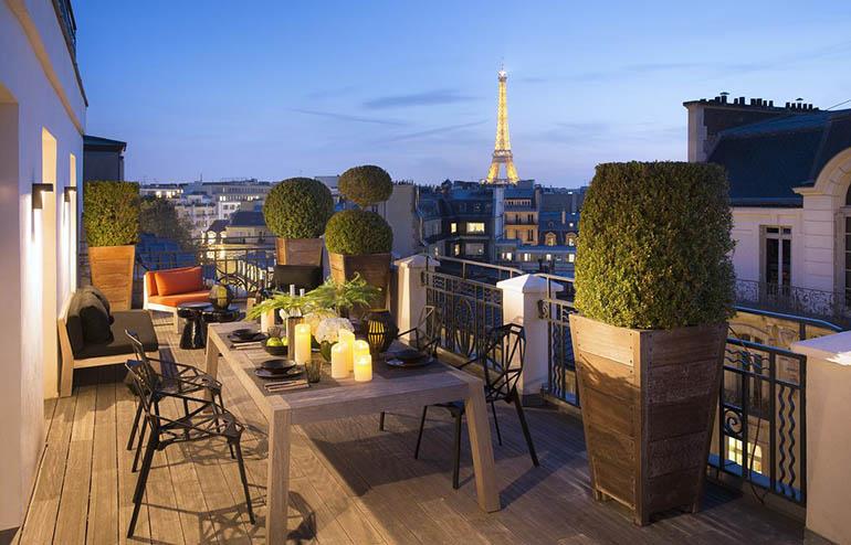 Hoteles en los Campos Elíseos París