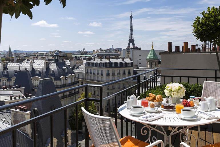 Hoteles románticos en París