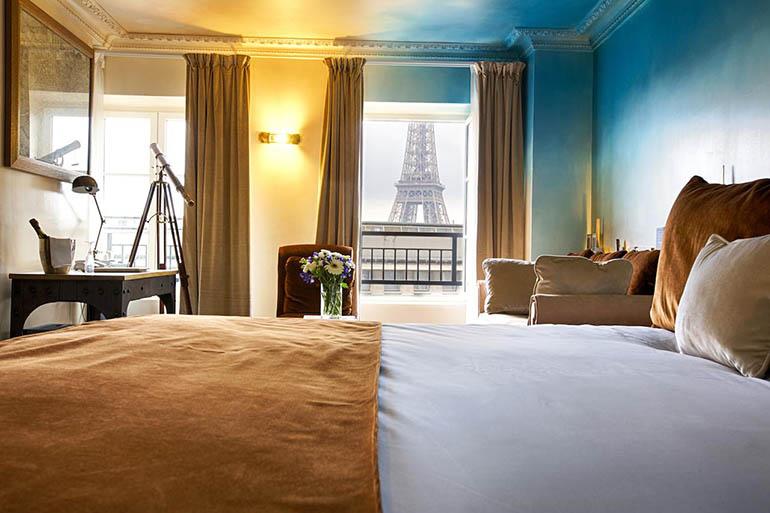 Hoteles en el centro de París