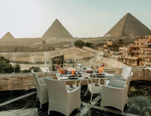 mejores hoteles vistas piramides de giza