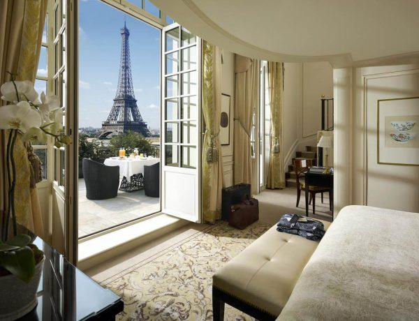 mejores hoteles con vistas a la Torre Eiffel