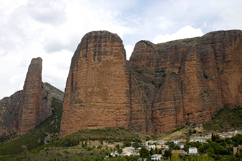 Mallos de Riglos en Huesca