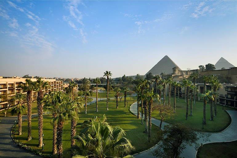 mejores hoteles con vistas a las pirámides
