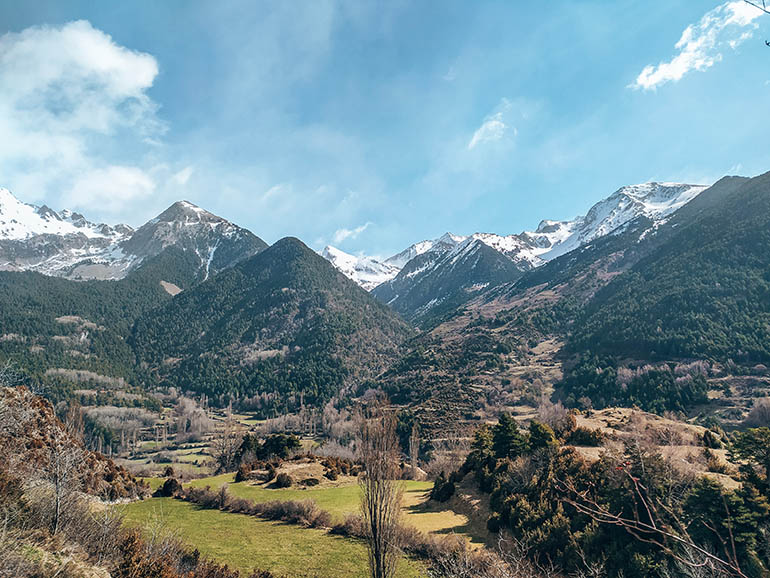 pirineo aragonés en primavera